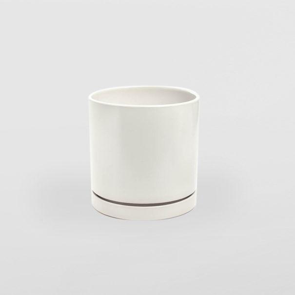 Ceramic White Pot & Set