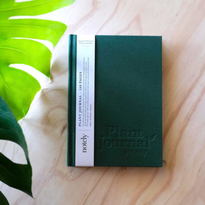 Plant Journal by Notely Recycled Paper