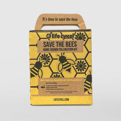 Life Cykel Save The Bees Home Grown Pollination Kit