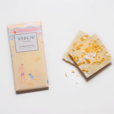 Winnow Chocolate Summer Pavlova
